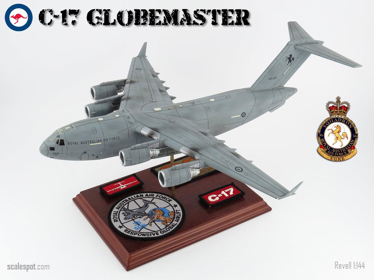 Scalespot Com C 17a Globemaster Raaf 36 Sqn