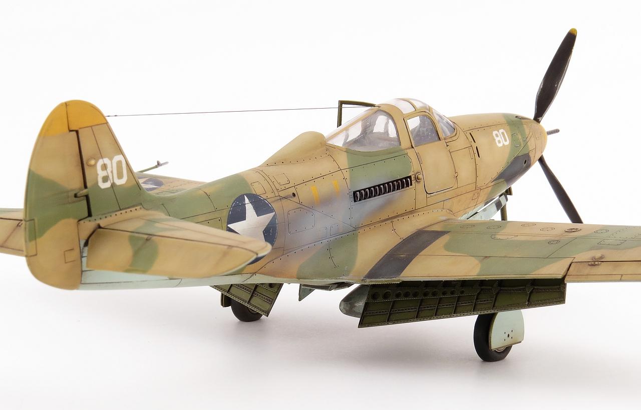 Scalespot Com P 400 Airacobra