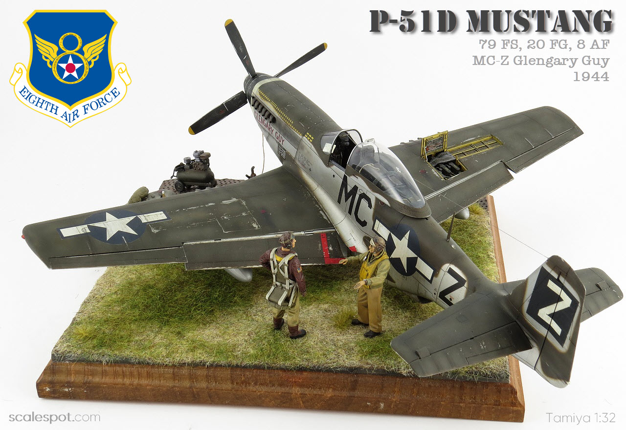 Tamiya Models P-51D//K Mustang Model Kit