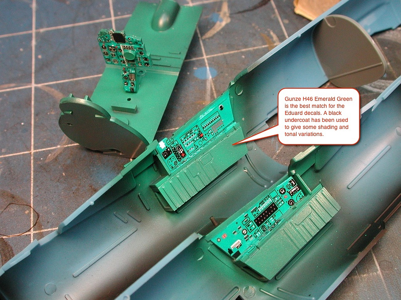 scalespot com - On The Bench - Eduard MiG-21MF Bunny Fighter